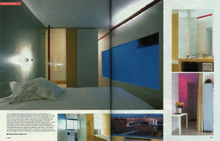 Bildergalerie: Innenarchitektur (In Assistenz bei Reimón Solà, Barcelona 2001) - Doppelseite 3