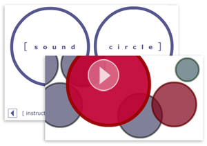 Sound circle (flash)